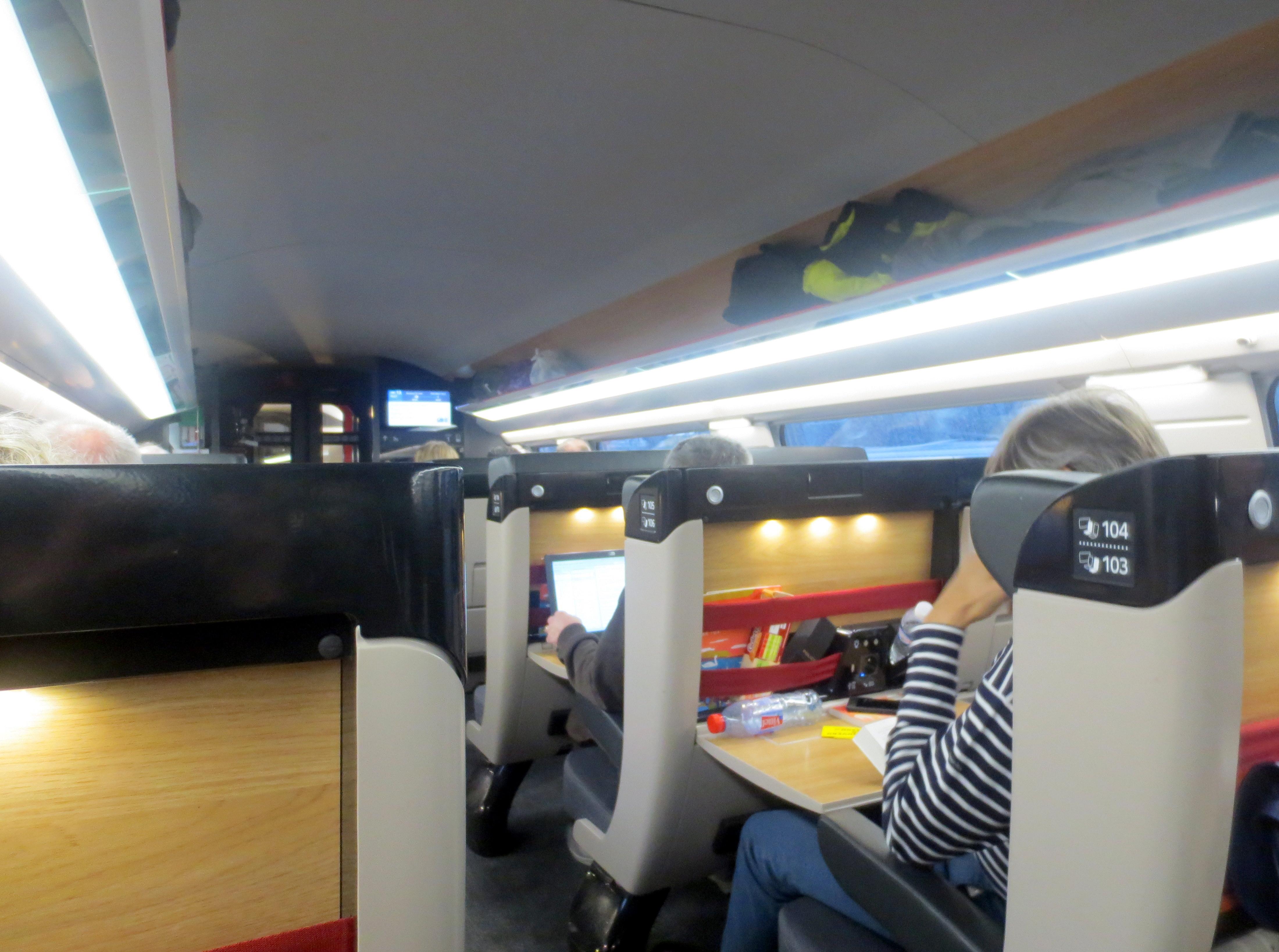 TGV-INOUI INSIDE